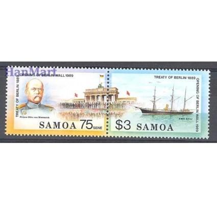 Znaczek Samoa 1990 Mi 701-702 Czyste **