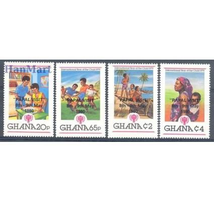 Ghana 1980 Mi 834-837 Czyste **
