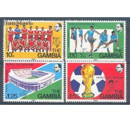 Gambia 1982 Mi 441-444 Czyste **