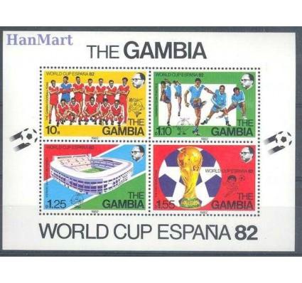Znaczek Gambia 1982 Mi bl 6 Czyste **