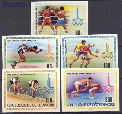 Wybrzeże Kości Słoniowej 1979 Czyste **