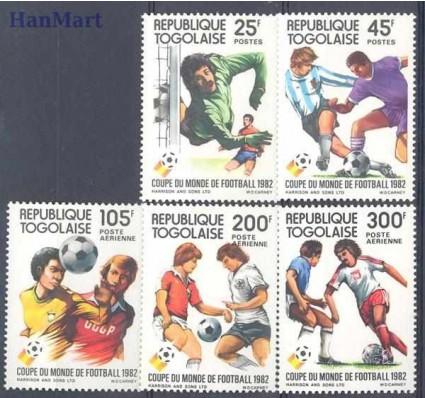 Togo 1982 Mi 1613-1617 Czyste **