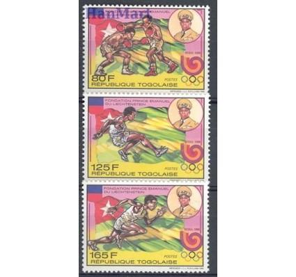 Znaczek Togo 1989 Mi 2119-2121 Czyste **