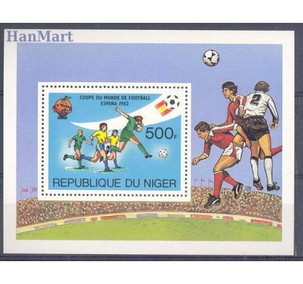 Niger 1981 Mi bl 34 Czyste **