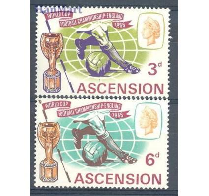 Wyspa Wniebowstąpienia 1966 Mi 100-101 Czyste **