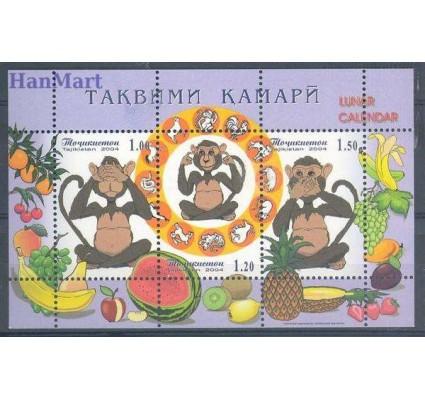Tadżykistan 2004 Mi bl 37 Czyste **