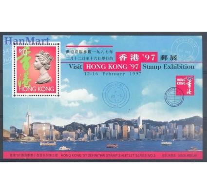 Znaczek Hong Kong 1996 Mi bl 42 Czyste **