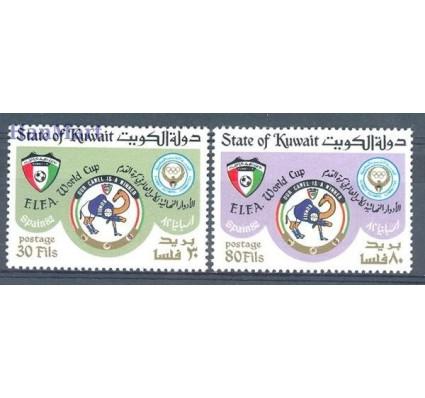 Znaczek Kuwejt 1982 Mi 934-935 Czyste **