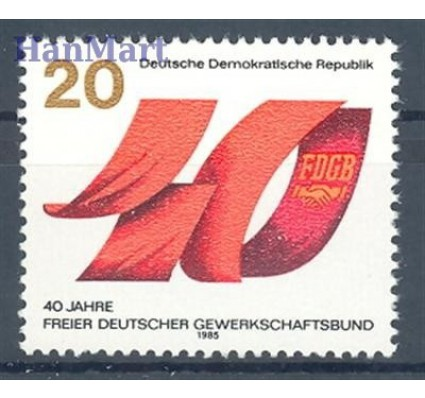 NRD / DDR 1985 Mi 2951 Czyste **