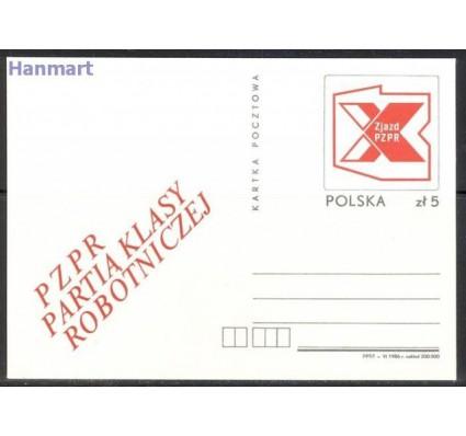 Polska 1986 Fi Cp 930 Całostka pocztowa