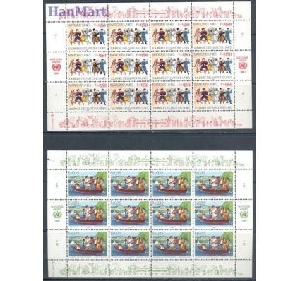 Narody Zjednoczone Genewa 1987 Mi ark 158-159 Czyste **