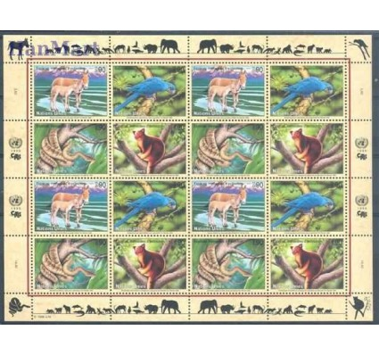 Znaczek Narody Zjednoczone Genewa 1999 Mi ark 369-372 Czyste **