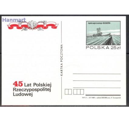 Znaczek Polska 1989 Fi Cp 1002-1005 Całostka pocztowa
