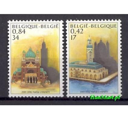 Znaczek Belgia 2001 Mi 3052-3053 Czyste **