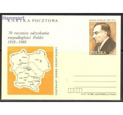 Znaczek Polska 1988 Fi Cp 984 Całostka pocztowa