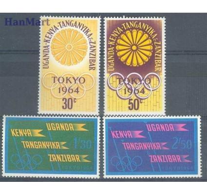 Znaczek Kenia Uganda Tanganyika 1964 Mi 132-135 Czyste **