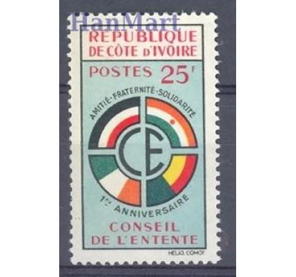 Znaczek Wybrzeże Kości Słoniowej 1960 Mi 221 Czyste **