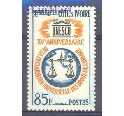 Znaczek Wybrzeże Kości Słoniowej 1963 Mi 258 Czyste **
