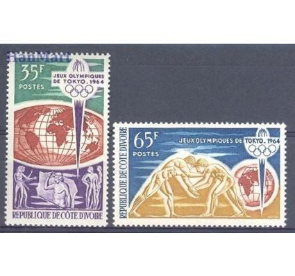 Znaczek Wybrzeże Kości Słoniowej 1964 Mi 269-270 Czyste **