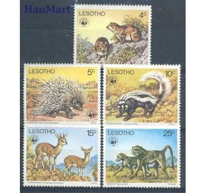 Znaczek Lesotho 1977 Mi 228-232 Czyste **