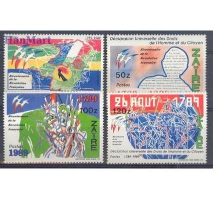 Znaczek Kongo Kinszasa / Zair 1990 Mi 953-956 Czyste **