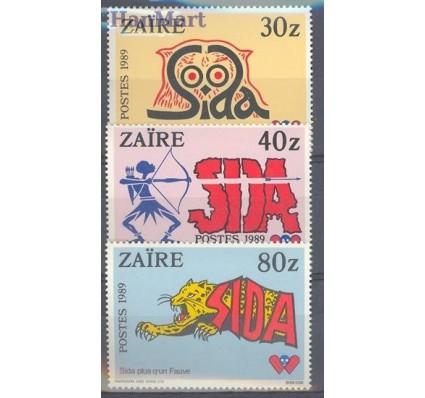 Znaczek Kongo Kinszasa / Zair 1990 Mi 957-959 Czyste **