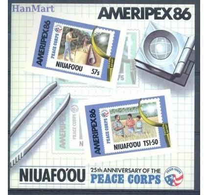 Znaczek Niuafo'ou 1986 Mi bl 3 Czyste **