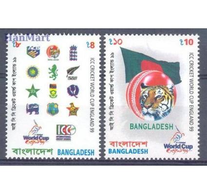 Znaczek Bangladesz 1999 Mi 685-686 Czyste **