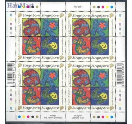 Singapur 2001 Mi 1051-1054 Czyste **