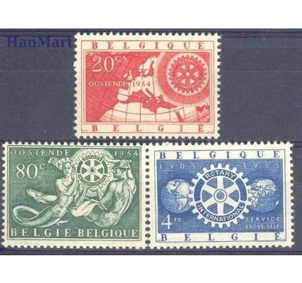 Znaczek Belgia 1954 Mi 1001-1003 Czyste **