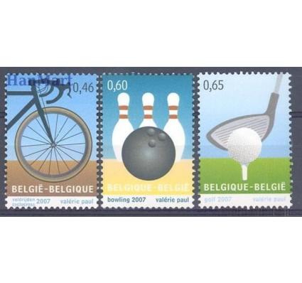 Belgia 2007 Mi 3650-3652 Czyste **