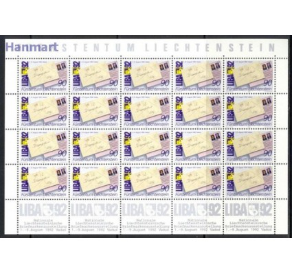 Liechtenstein 1991 Mi ark 1026 Czyste **