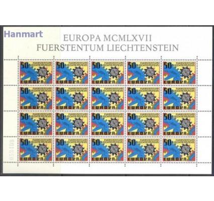 Znaczek Liechtenstein 1967 Mi ark 474 Czyste **