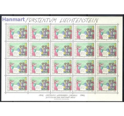 Liechtenstein 1992 Mi ark 1049 Czyste **