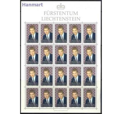 Liechtenstein 1992 Mi ark 1053 Czyste **