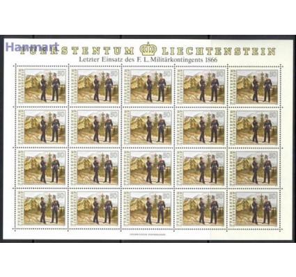 Znaczek Liechtenstein 1991 Mi ark 1020-1022 Czyste **