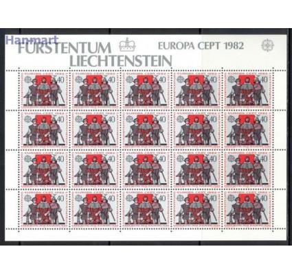 Liechtenstein 1982 Mi ark 791-792 Czyste **