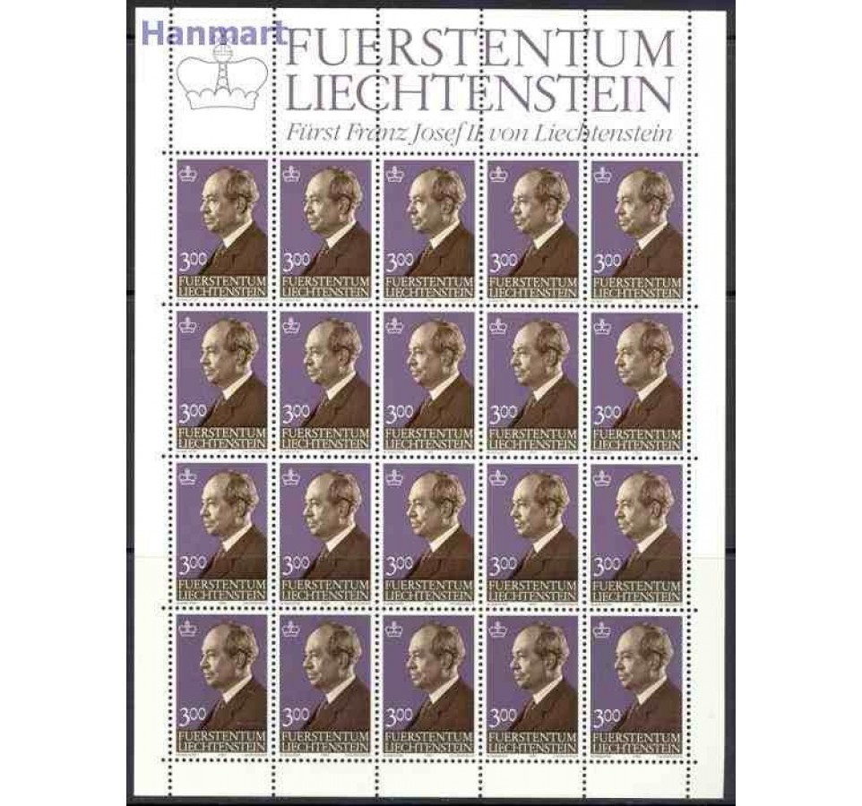 Liechtenstein 1983 Mi ark 828-829 Czyste **