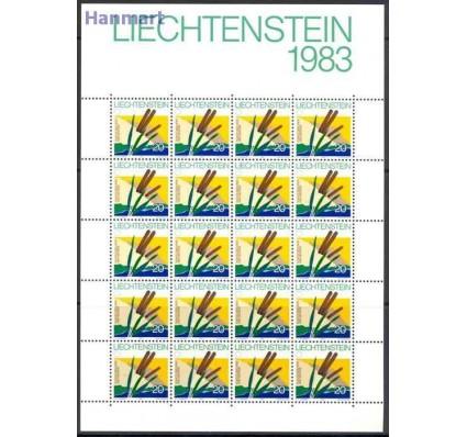 Liechtenstein 1983 Mi ark 824-827 Czyste **