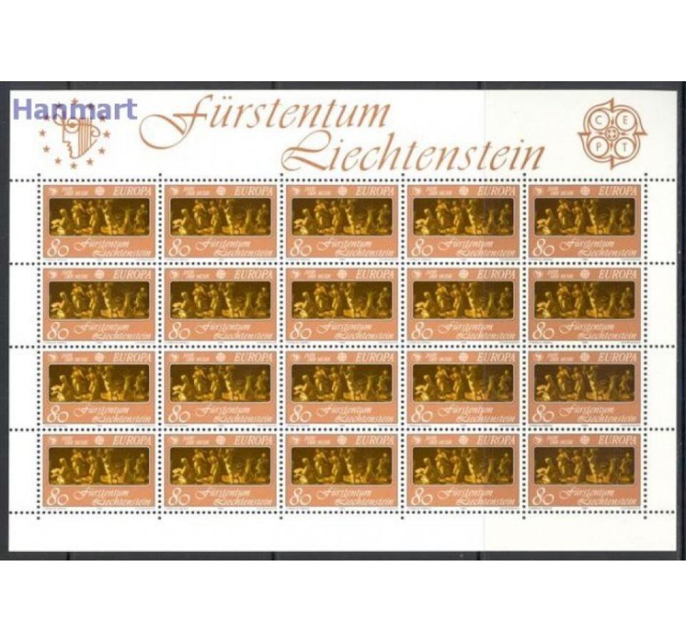 Liechtenstein 1985 Mi ark 866-867 Czyste **