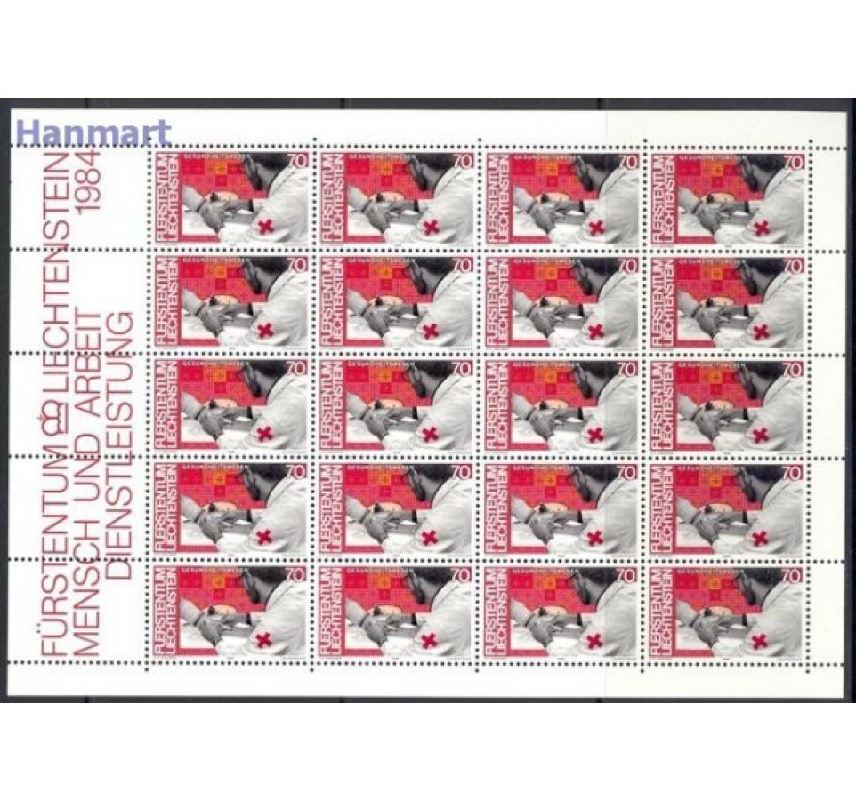 Liechtenstein 1984 Mi ark 849-860 Czyste **