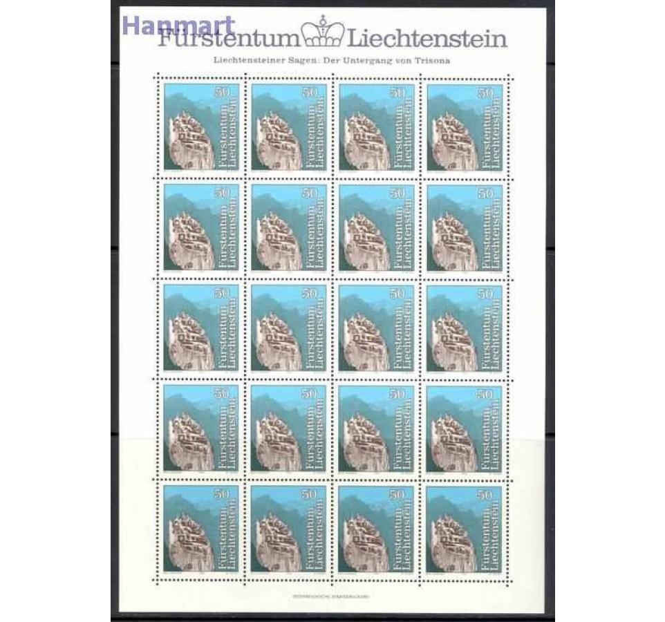 Liechtenstein 1984 Mi ark 843-845 Czyste **