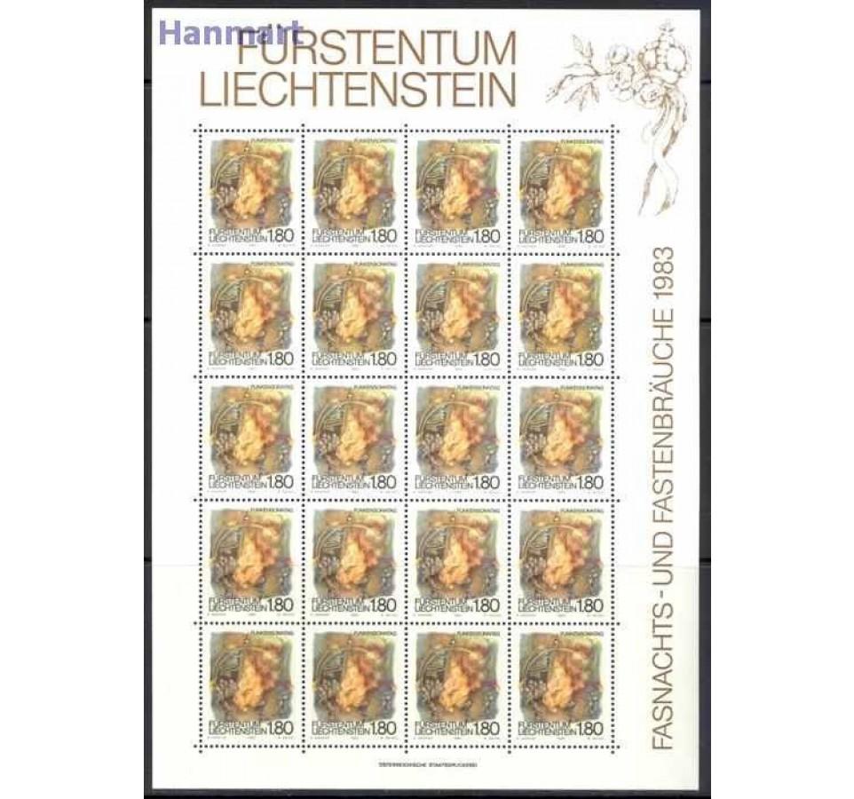 Liechtenstein 1983 Mi ark 818-820 Czyste **