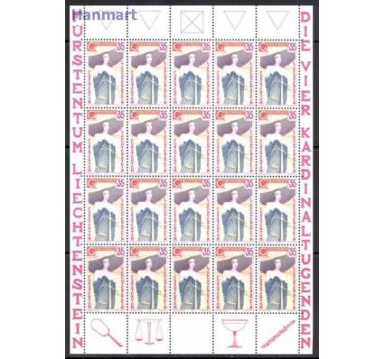 Znaczek Liechtenstein 1985 Mi ark 871-874 Czyste **