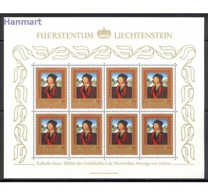 Znaczek Liechtenstein 1985 Mi ark 881-883 Czyste **