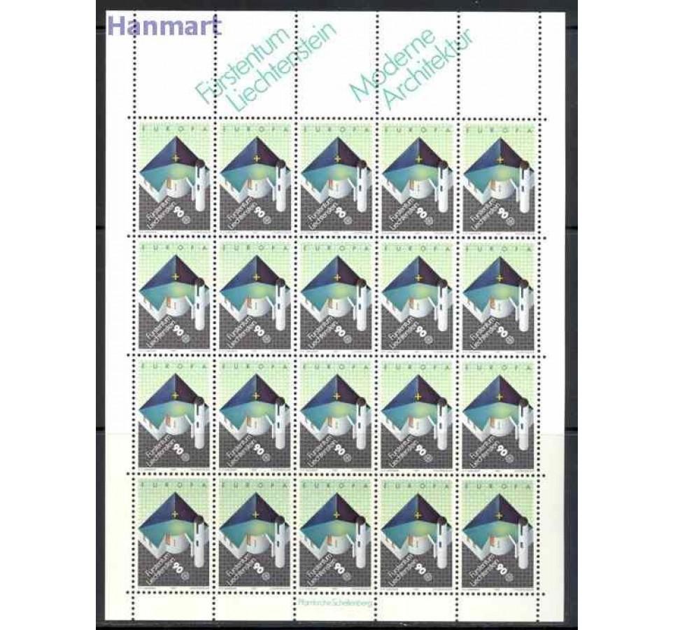 Liechtenstein 1987 Mi ark 916-917 Czyste **