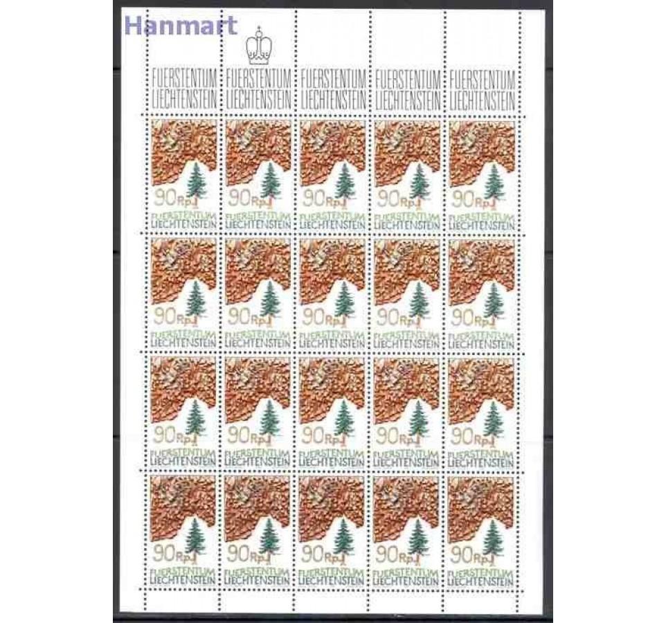 Liechtenstein 1986 Mi ark 913-915 Czyste **