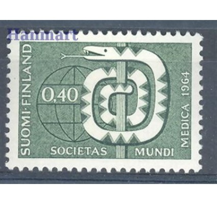 Finlandia 1964 Mi 593 Czyste **