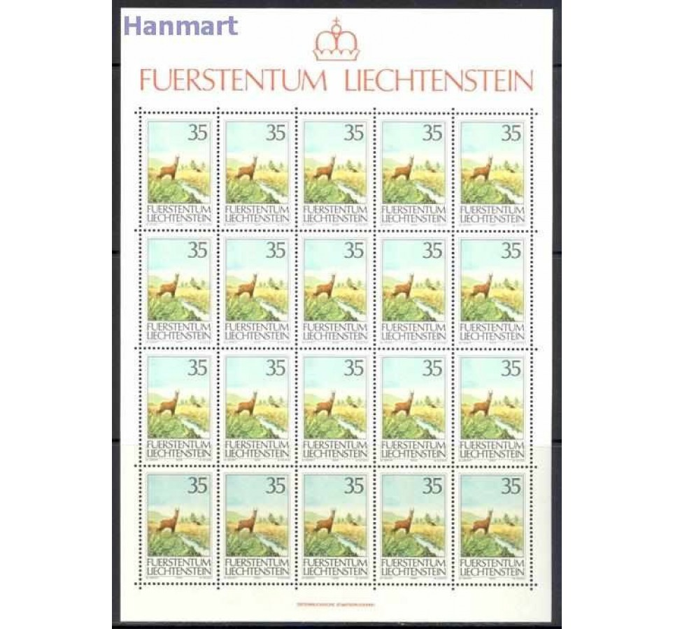 Liechtenstein 1986 Mi ark 907-909 Czyste **