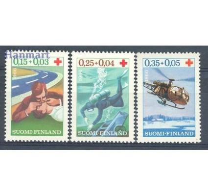 Znaczek Finlandia 1966 Mi 609-611 Czyste **
